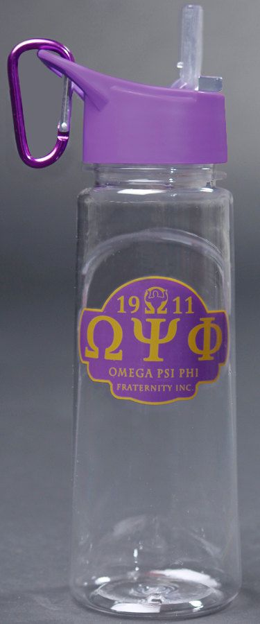 Hey, I found this really awesome Etsy listing at https://www.etsy.com/listing/185298935/omega-psi-phi-water-bottle