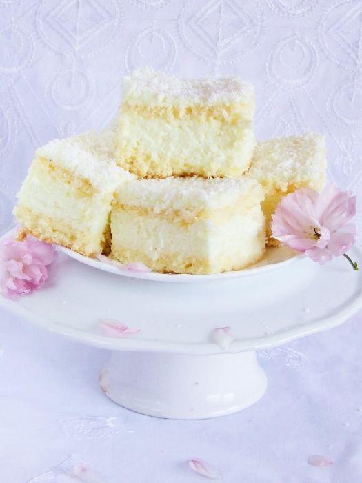 Ciasto cytrynowo kokosowe
