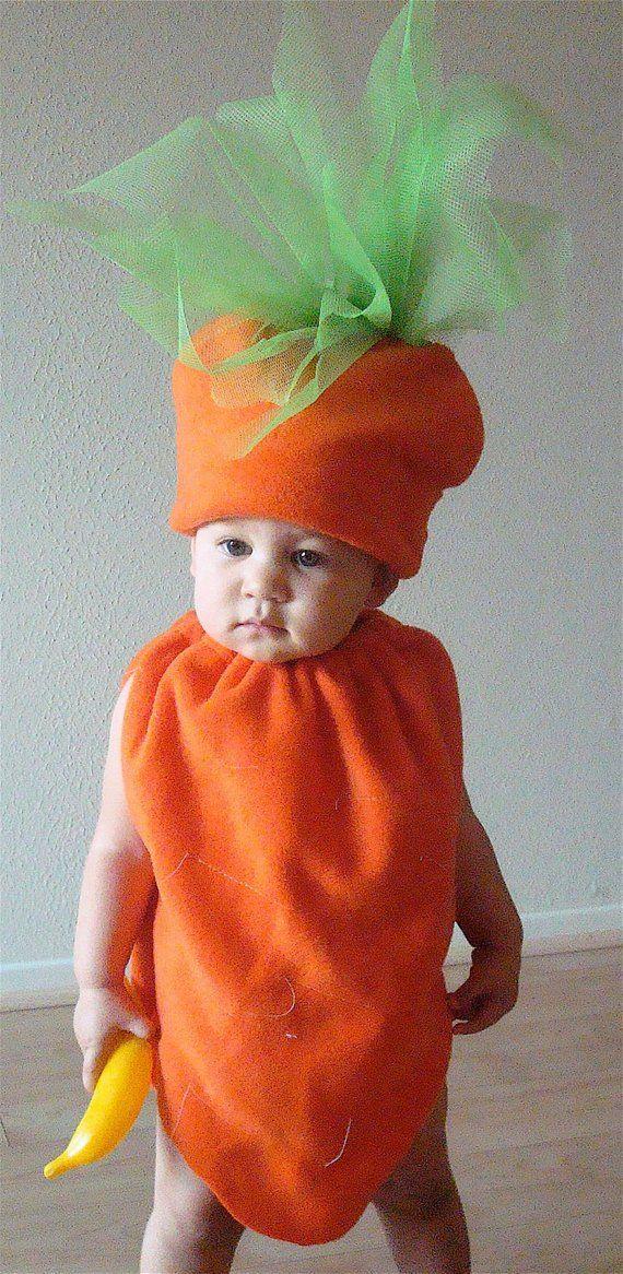 Peuter Halloween.Kids Costume Carrot Costume Baby Costume Toddler Costume