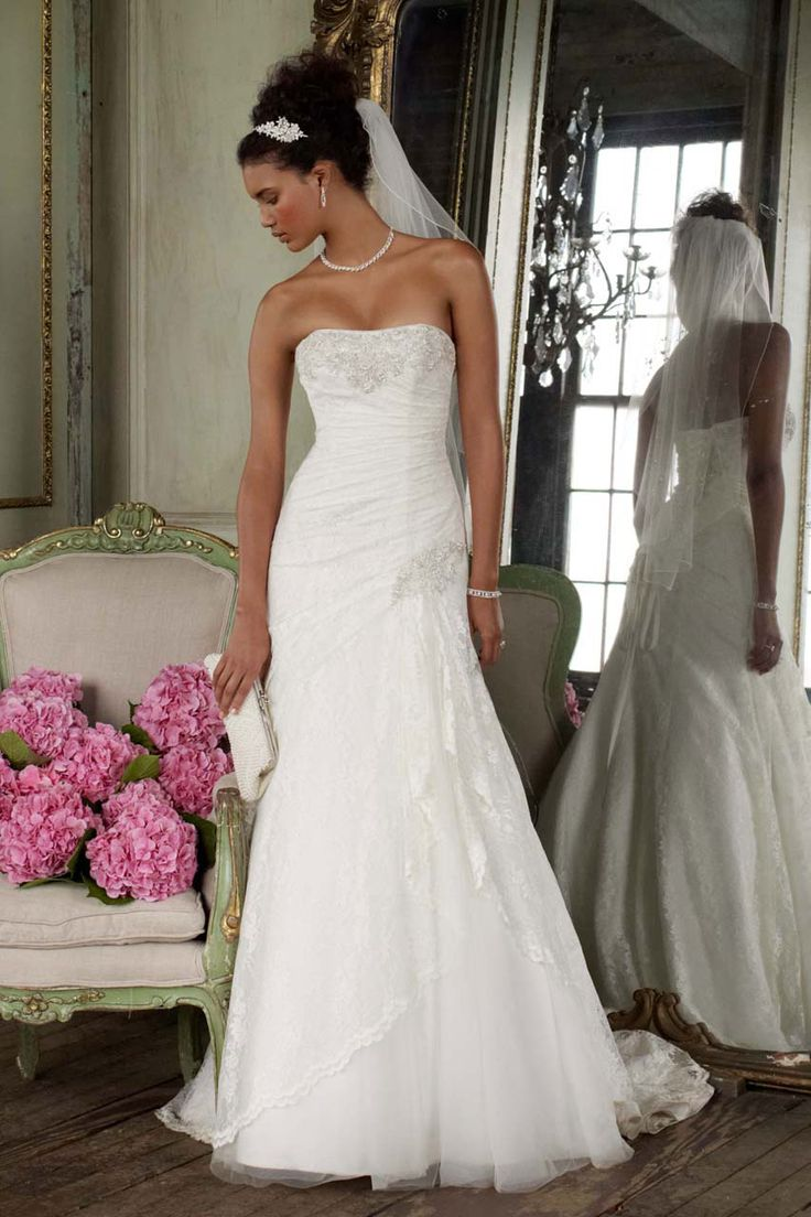 David's Bridal: Style YP3344 @Stephanie Close Close Close Walker this was one of our favorites and this store is in Phoenix