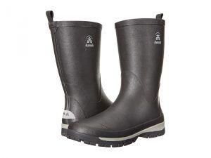 Kamik Lars (Black) Men's Rain Boots