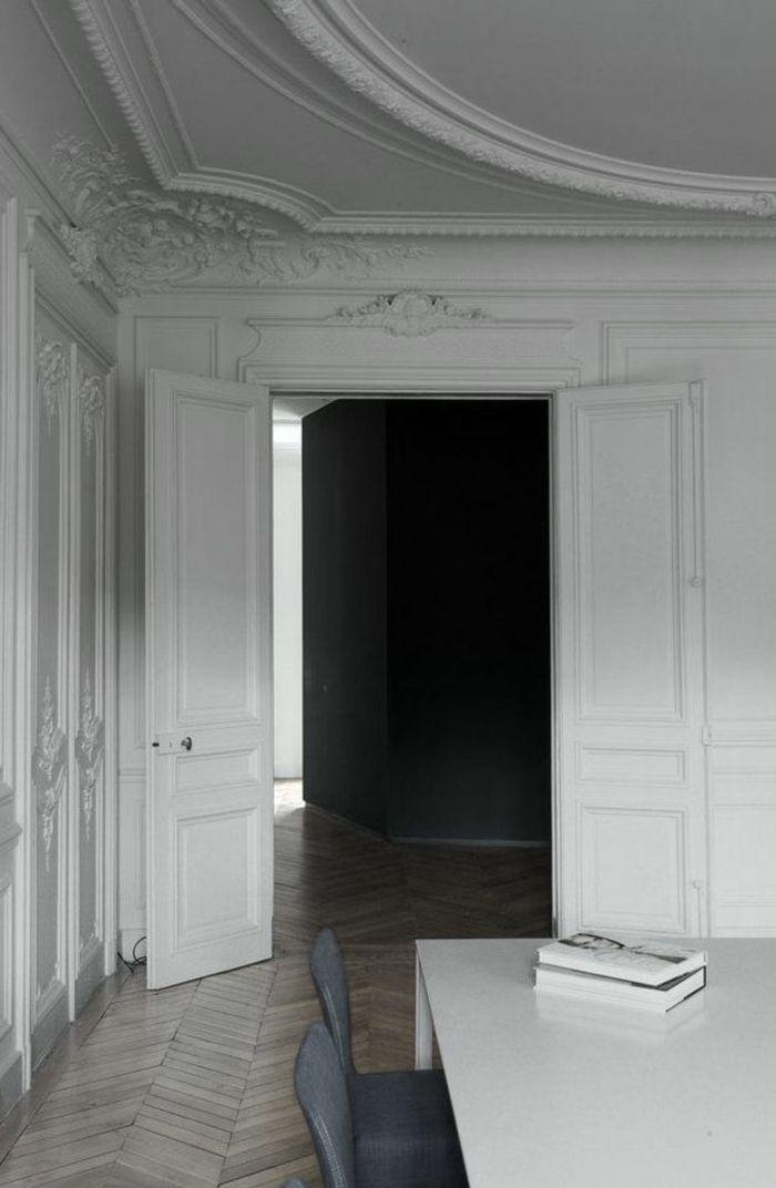 les 65 meilleures images propos de moulures sur pinterest peintures murales baroque et. Black Bedroom Furniture Sets. Home Design Ideas