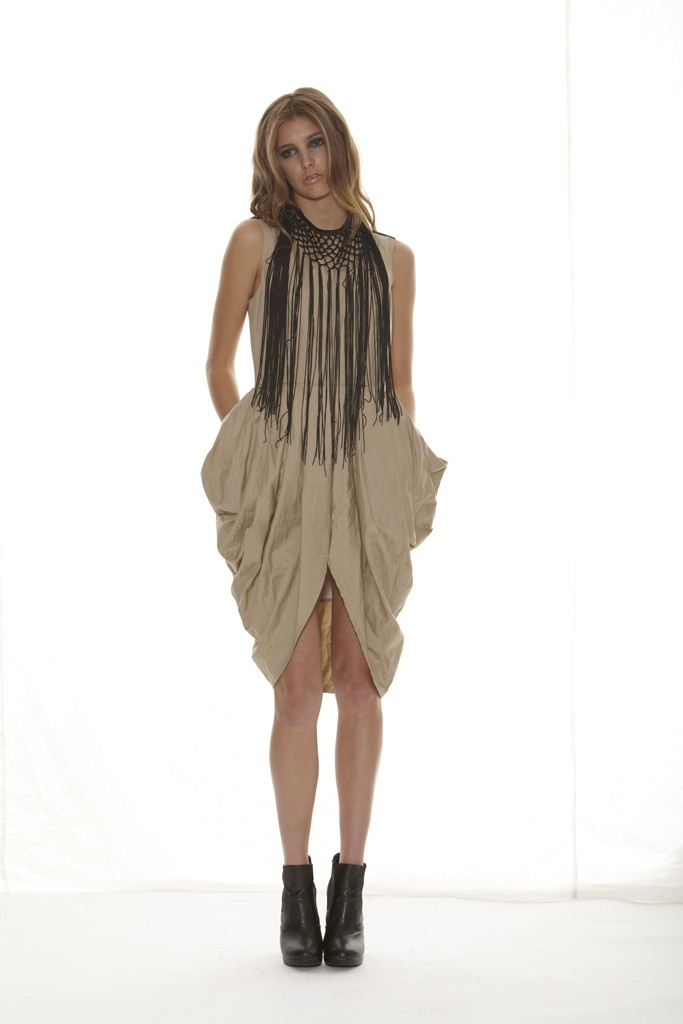 Taylor 'Shadow' Collection, Summer 12/13 www.taylorboutique.co.nz Tulip Dress in Sand