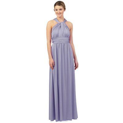Debut Mid blue multiway evening dress | Debenhams