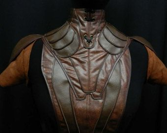 Star wars Bastila Shan's costume faux leather armor cosplay custom made to your size!