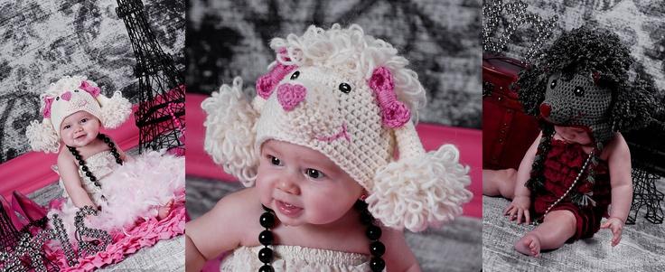 Paris the Poodle Hat