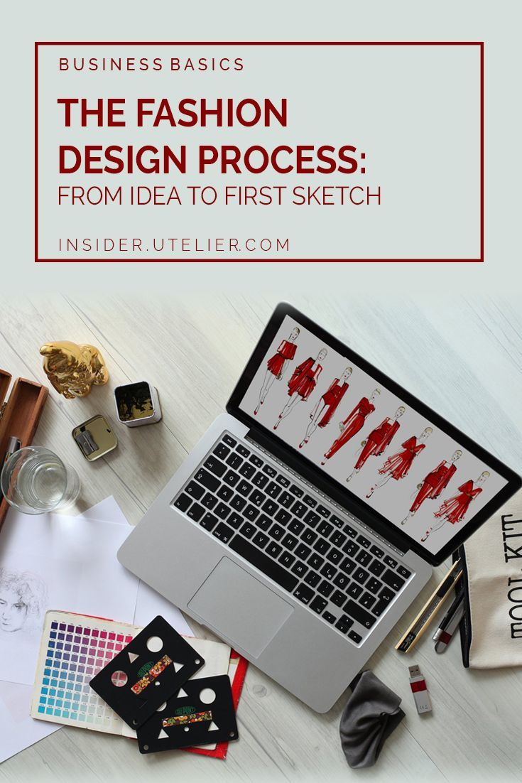 Fashion Design Process Ever Thought Of Starting A Fashion Label Many Do Every Day The Role Of The Fashion D Design Process Fashion Design Business Basics