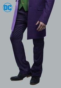 THE JOKER Suit Pants (Authentic) <ul> <li>70% polyester 30% rayon.</li> <li>Zip fly