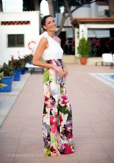 Confesiones de una boda: Look Espía Invitada: white & palazzo & los looks de mis amigas
