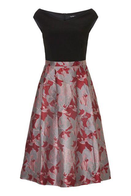 5264d22c05f784 Kleid mit Faltenrock in 2019 | Vestidos | Faltenrock, Kleider und ...