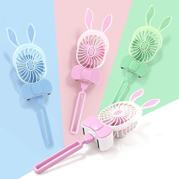 USB Charging Rotatable Mini Fan Creative Portable Cute Cartoon Blower Desktop Smart Home Appliances is Cool-NewChic