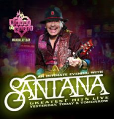 Santana rips through a set list of his greatest hits from his long and legendary career in his residency show at The House of Blues in Mandalay Bay on The Las Vegas Strip.