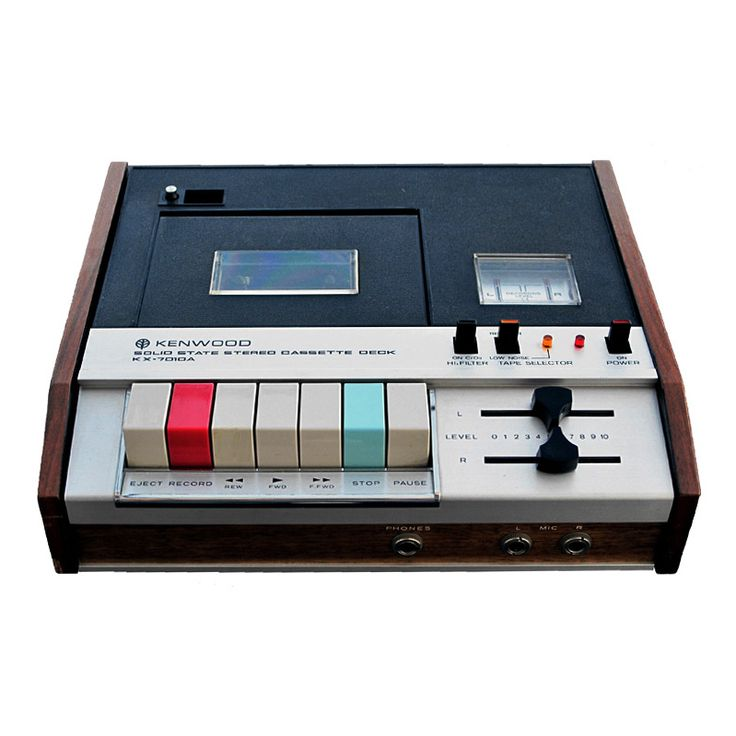 Kenwood KX-7010 cassette recorder, 1970. USA. Source
