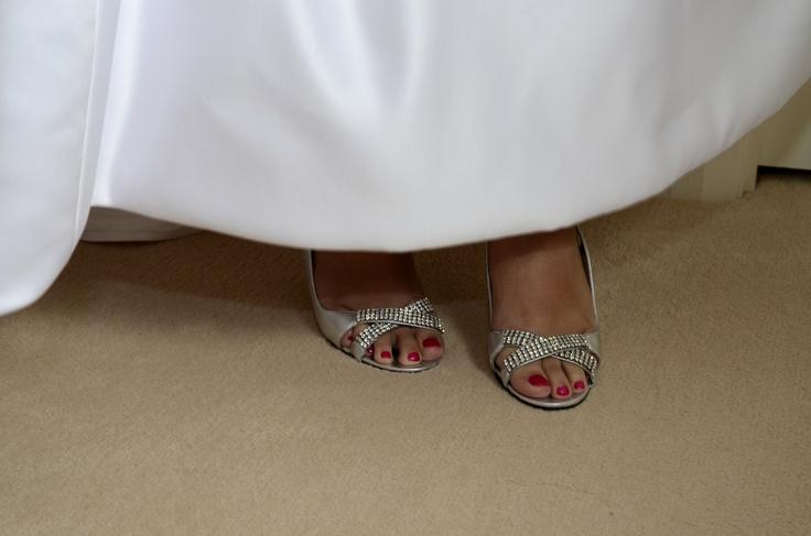 Alan Pinkus shoes - pretty diamantes