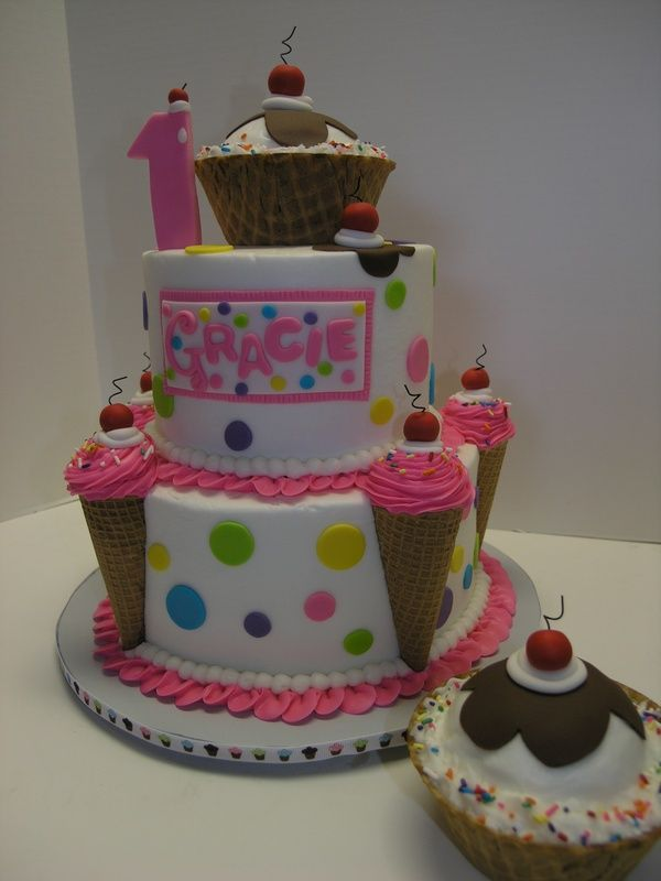 101 Best Images About 1st Birthday Cakes On Pinterest