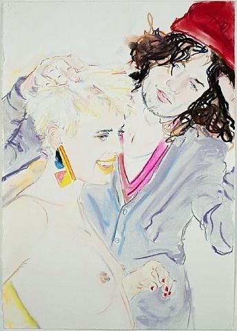 Artnet Galleries: Agyness U0026 Teddy By Billy Sullivan From Baldwin Gallery