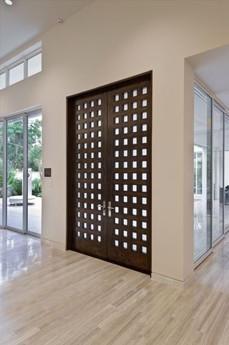 JELD WEN® Contemporary Custom Wood Doors #troypait #jeldwen  #sherwinwilliams. Contemporary Interior DoorsContemporary DesignWindow ...