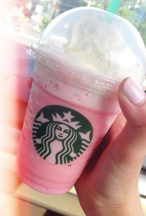 3. CAPTAIN CRUNCH FRAPPUCCINO:If you love the cereal, you'll love the drink! This drink is made as a strawberries and creme frappuccino and a shot of caramel, two shots of toffee, one shot of hazelnut and two scoops of chocolate chip are added to create this cereal blend! It definitely lives up to its name!