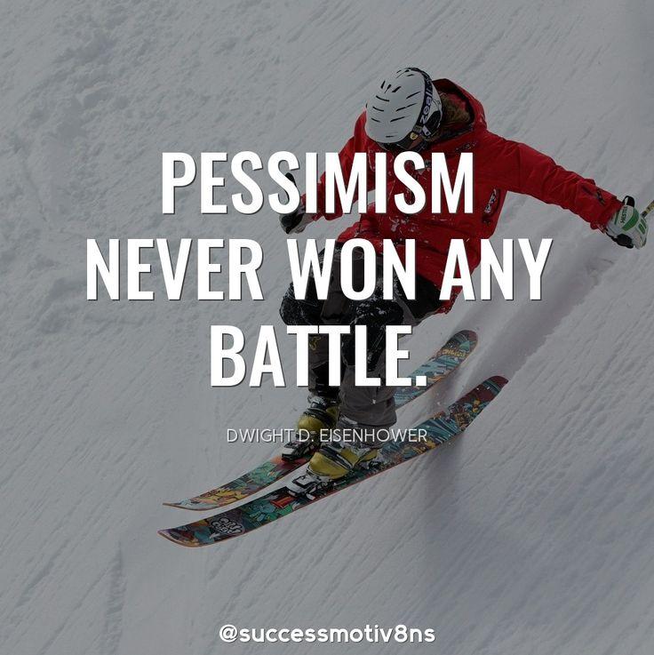 Pessimism never won any battle. #quotes #MotivationalQuotes #lawofattraction  #SuccessTrain #success #successquotes