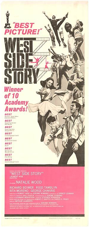 West Side Story poster, $475