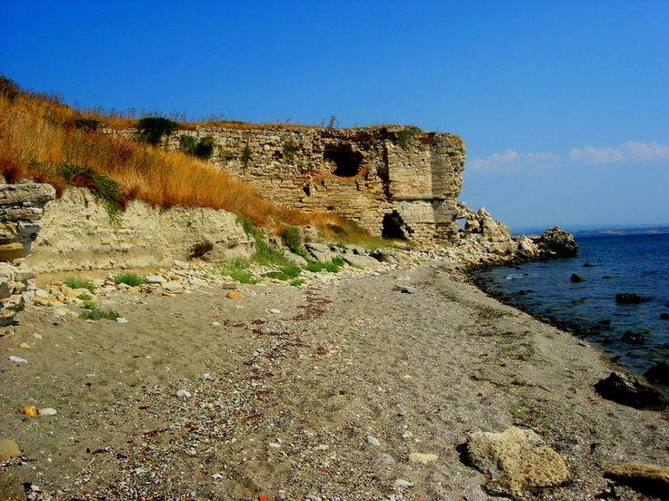Seddülbahir Kalesi güneybatı sahili.. Seddülbahir fotoğrafları / Seddülbahir Fortress southwest beach.. Seddülbahir photos