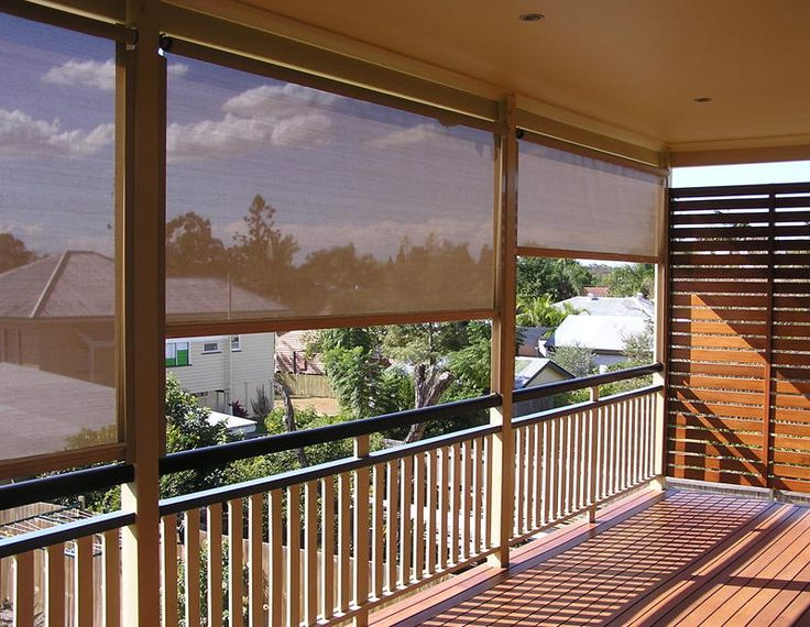 Patio and Cafe Awning Blind - Franklyn Blinds