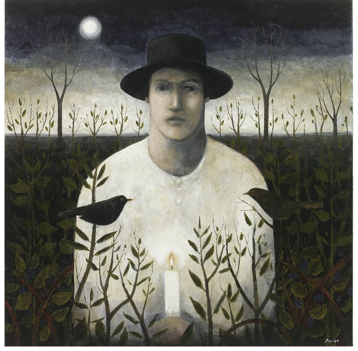 """A Dusk Wish"" by John Caple (acrylic on canvas)"