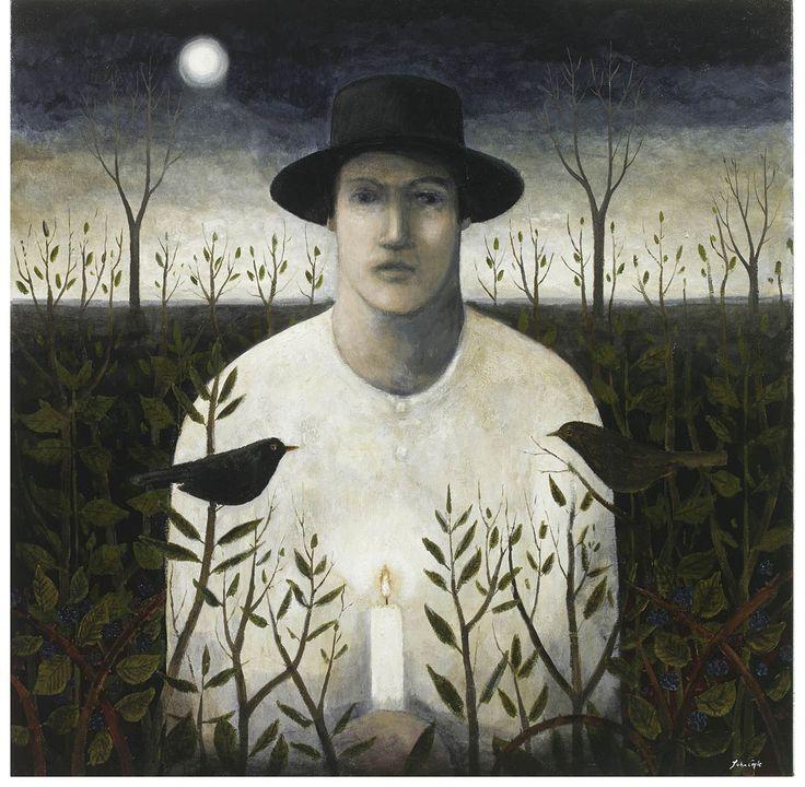 """""""A Dusk Wish"""" by John Caple (acrylic on canvas)"""