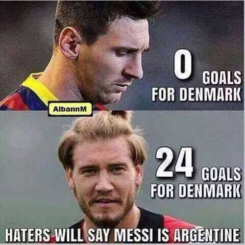 Messi Bendtner