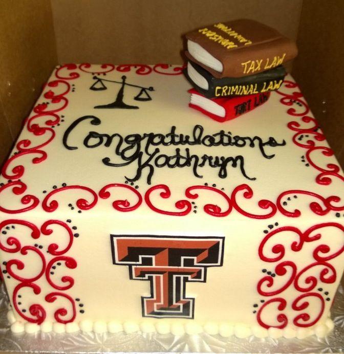 Texas Tech Law School Cake
