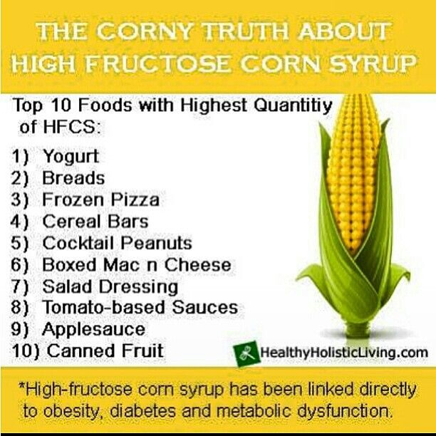 High Fructose Corn Syrup | i RUN this body | Pinterest