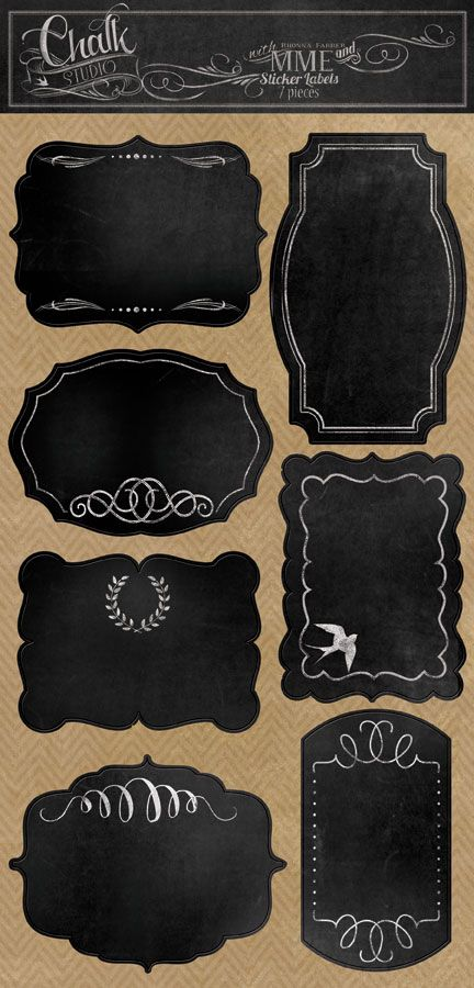 6a01053647c676970c0192ab1946c0970d-800wi (432×900) These styles would be great for labels or chalk board painting on our Heritage Hill or Montana Jars #fillmore container