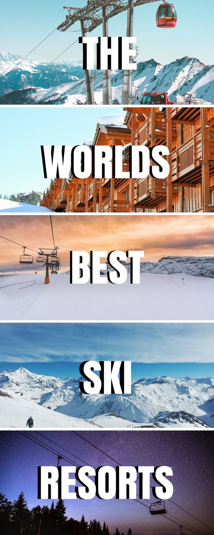 Wondering where to ski this winter? We've got you covered! With the best ski resorts in the USA, Canada, Europe & beyond, let us help plan your trip! ***** Best ski resorts in the USA | Best Ski Resorts in Canada | Best Ski Resorts in North America | Best Ski Resorts in Europe | Best Ski Resorts in France | Best Ski Resorts in Switzerland | Best Ski Resorts in Austria | Top Ski Resorts | Where to ski for beginners | Where to snowboard | Plan your ski vacation | ski holiday | Best Resorts to…