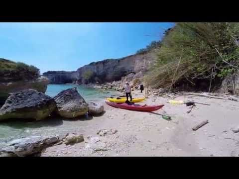 Salento Otranto in Sea Kayak - YouTube