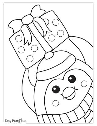 Christmas Coloring Pages - Easy Peasy and Fun | Christmas ...