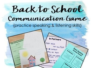 HILARIOUS first day of school game for upper elementary/middle school. Practice speaking and listening expectations through a fun, community building game!