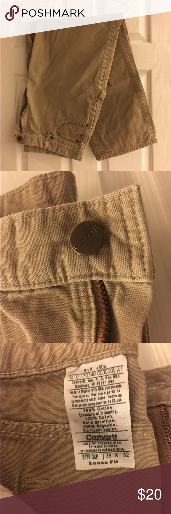Mens Carhartt Carpenter Work Pants Mens Carhartt Carpenter Work Pants, 38/32, worn a few times in great condition. Carhartt Pants