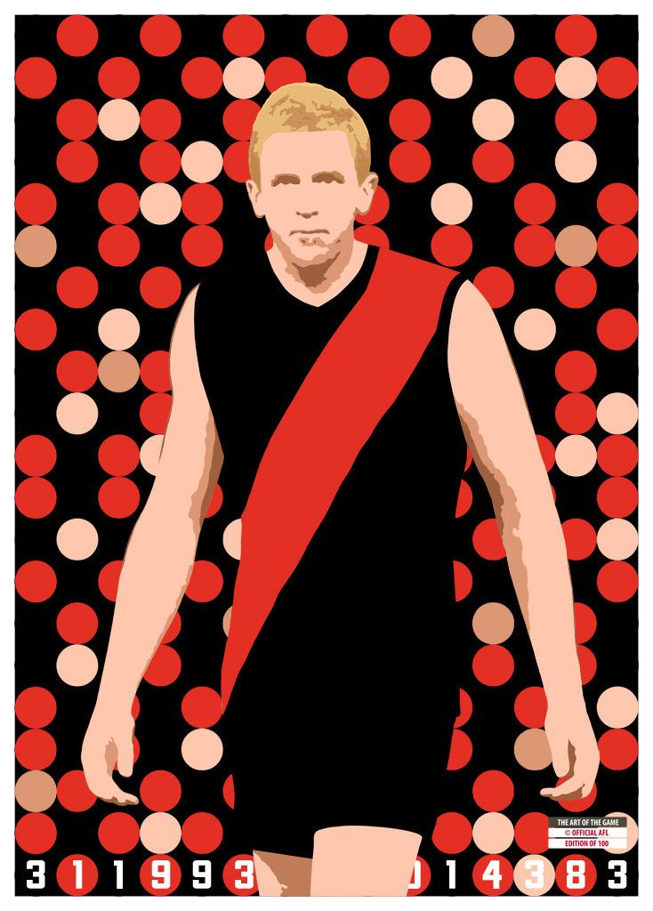 Dustin Fletcher Poster | The Art of the Game