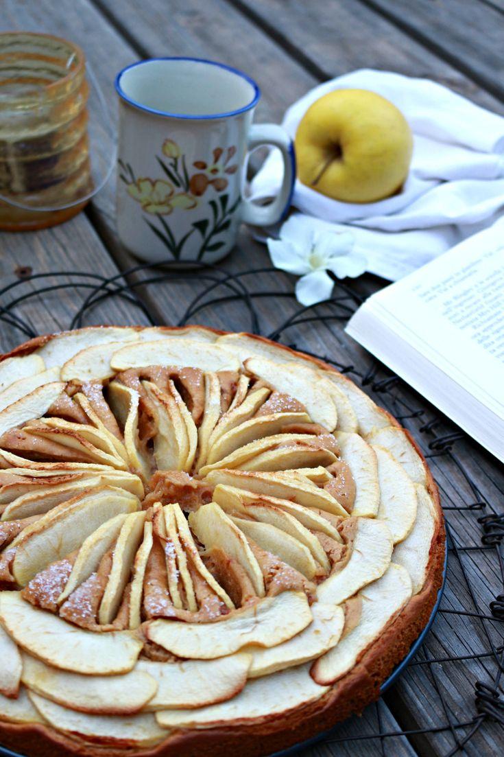 torta al gelato con mele