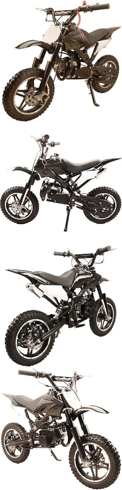 Gas Scooters 75211: Kids 49Cc 2-Stroke Mini Pocket Dirt Bike Gas Power Motor - Free Shipping - Black -> BUY IT NOW ONLY: $369.99 on eBay!