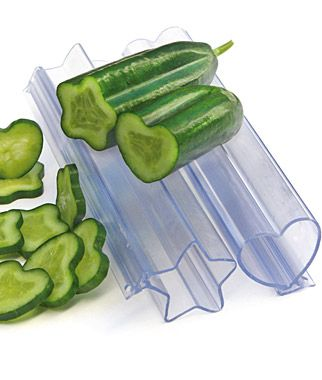 """Vegetable molds. I simultaneously thought: """"These are weird."""" and """"I think I want them."""""""