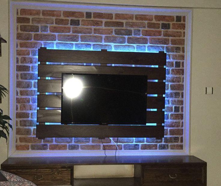 Ve Wall Panels : Pinterest teki en iyi diy easy strotex d brick wall
