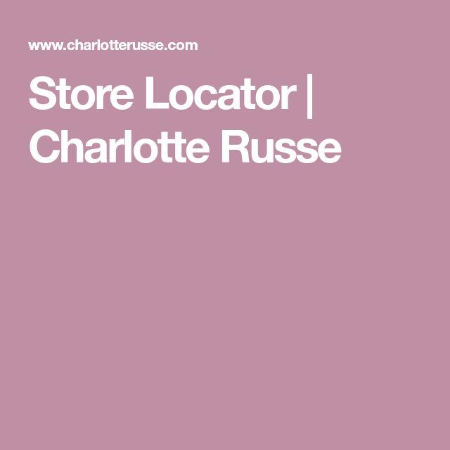 Store Locator | Charlotte Russe
