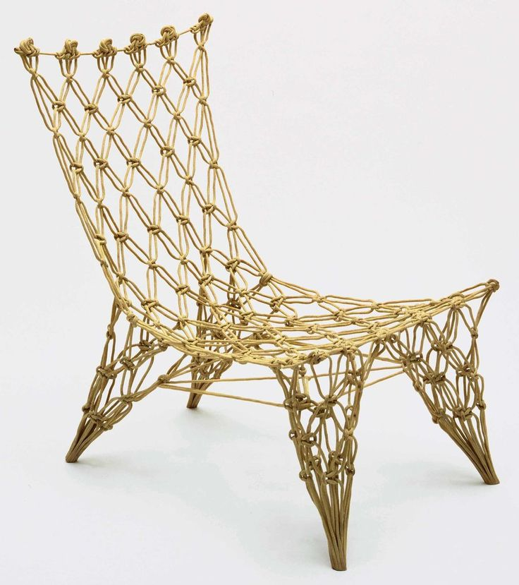 Because it is so damn great looking: Marcel Wanders Knotted Chair 1995 NYTimes.com