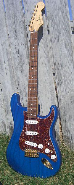 Blue Stratocaster
