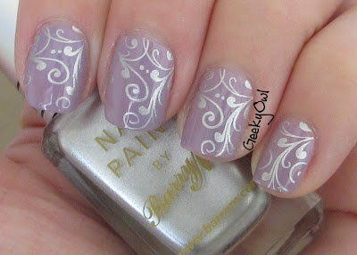 Geeky Owl: Love Yourself Mani: Essence No More Drama and Barry M Foil Effects