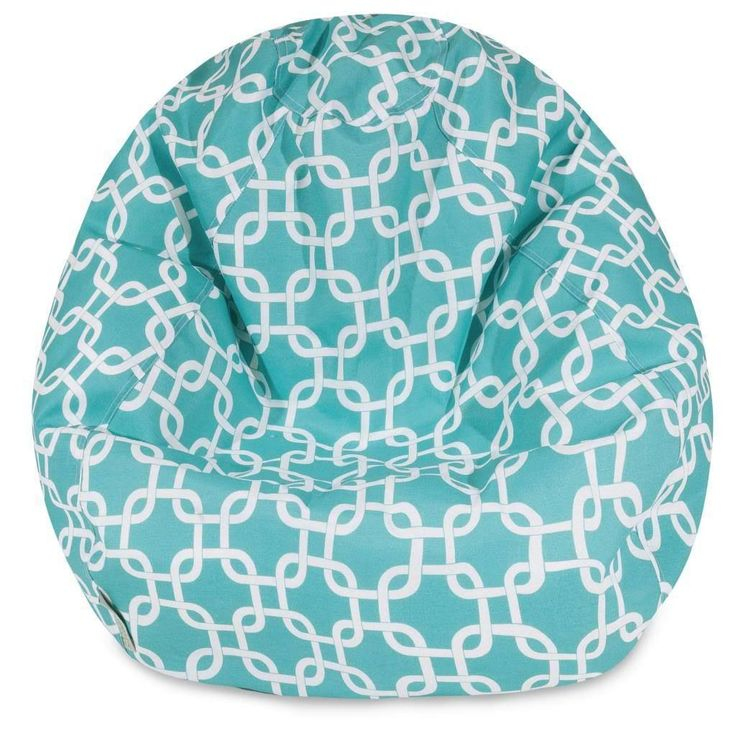 A great addition to any family room, playroom or outdoor seating arrangement, the Majestic Home Goods Small Classic Bean Bag allows your child to read or watch a favorite show in the utmost comfort.