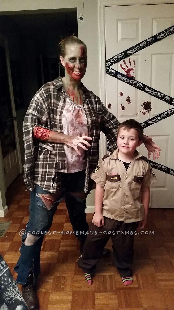 Homemade Zombie Costume... Coolest Halloween Costume Contest