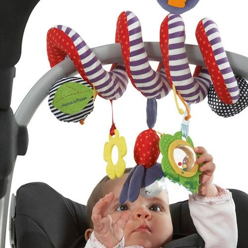 Mamas and Papas Activity Spiral Stroller and Car Seat Toy - Play With Me