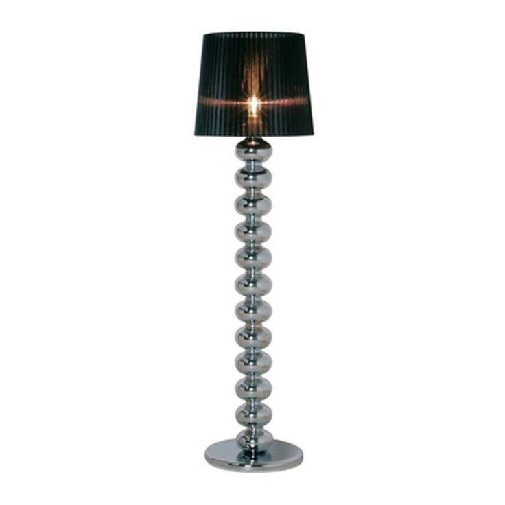Een staande lamp